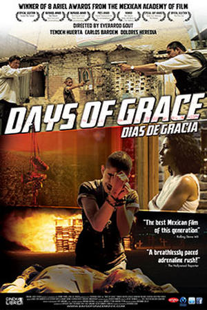 """Poster for """"Days of Grace."""""""