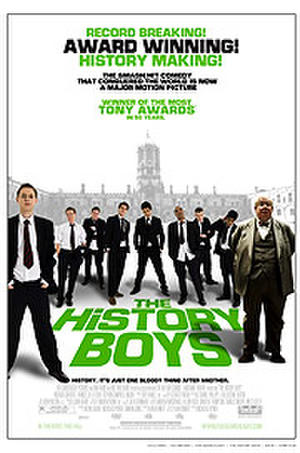 "Poster art for ""The History Boys."""