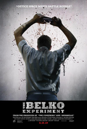 "Poster art for ""The Belko Experiment."""