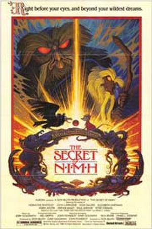"""Poster art for """"The Secret of NIMH."""""""
