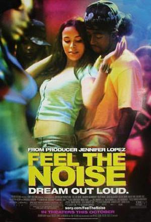 """Poster art for """"Feel the Noise."""""""
