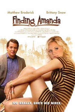 """Poster art for """"Finding Amanda."""""""