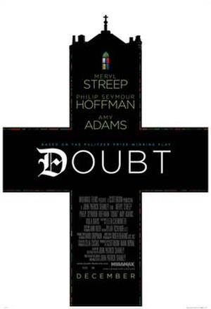 "Poster art for ""Doubt."""