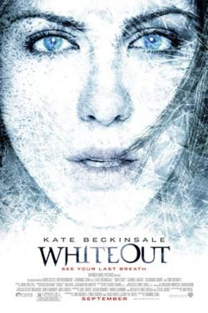 "Poster art for ""Whiteout."""