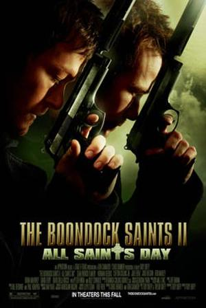 "Poster art for ""Boondock Saints II: All Saints Day."""