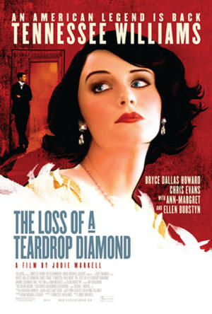 "Poster art for ""The Loss of a Teardrop Diamond."""