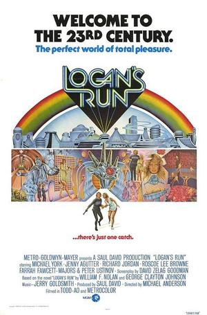 "Poster art for ""Logan's Run."""