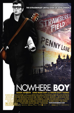 "Poster art for ""Nowhere Boy."""