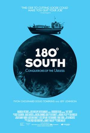 "Poster art for ""180° South."""