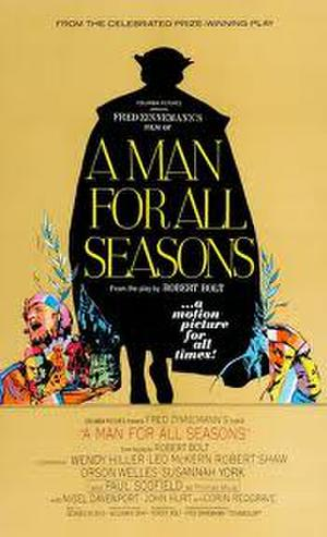 "Poster art for ""A Man for All Seasons."""