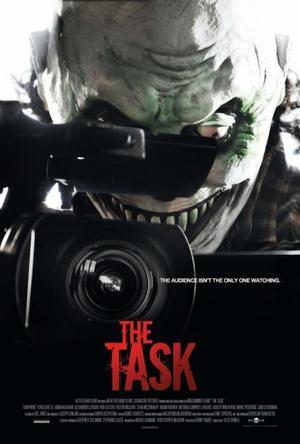 """Poster art for """"The Task."""""""