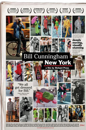 "Poster art for ""Bill Cunningham in New York."""