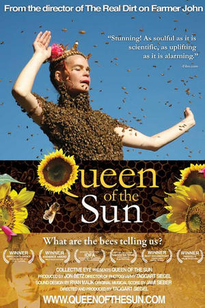 """Poster art for """"Queen of the Sun: What Are the Bees Telling Us?"""""""