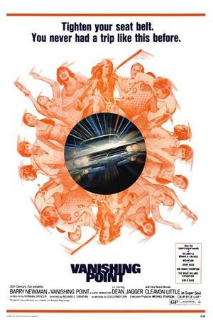 """Poster art for """"Vanishing Point."""""""
