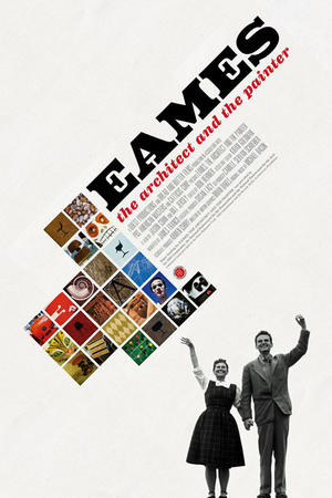 "Poster art for ""Eames: The Architect and the Painter."""
