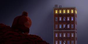 """Wreck-It Ralph voiced by John C. Reilly in """"Wreck-It Ralph."""""""