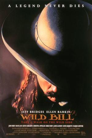 """Poster art for """"Wild Bill."""""""
