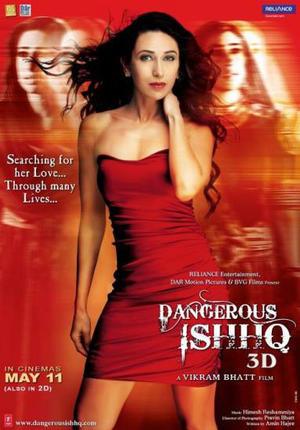 """Poster art for """"Dangerous Ishhq."""""""