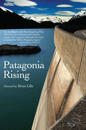 "Poster art for ""Patagonia Rising."""