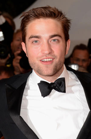 """Robert Pattinson at the premiere of """"Cosmopolis"""" during the 65th Annual Cannes Film Festival in France."""
