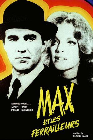 """Poster art for """"Max et Les Ferrailleurs."""""""