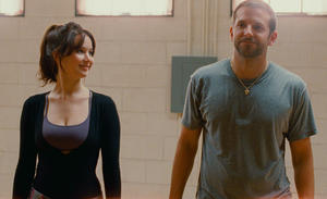 "Jennifer Lawrence and Bradley Cooper in ""Silver Linings Playbook."""