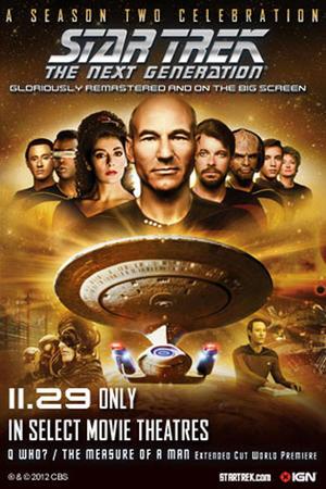 "Poster art for ""Star Trek: The Next Generation - A Celebration of Season 2."""