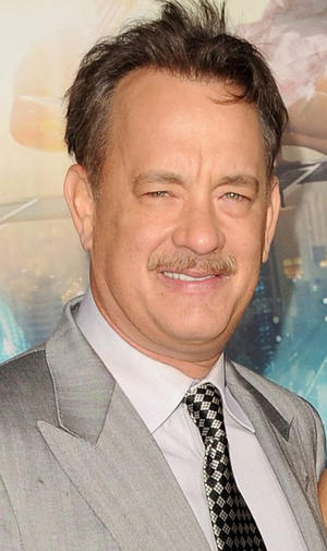"Tom Hanks at the California premiere of ""Cloud Atlas."""