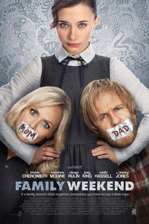 "Poster art for ""Family Weekend."""