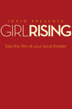 "Poster art for ""Girl Rising."""