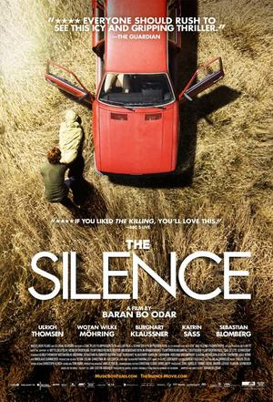 "Poster art for ""The Silence."""