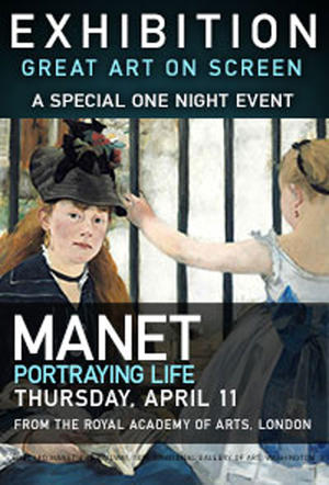 """Poster art for """"Manet: Portraying Life."""""""