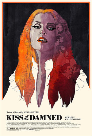 "Poster art for ""Kiss of the Damned."""