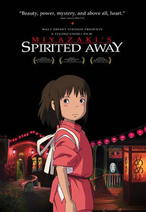 "Poster art for ""Spirited Away."""