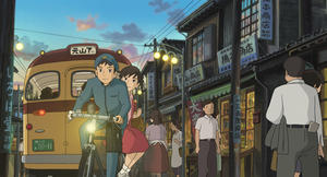 "A scene from ""From Up on Poppy Hill."""