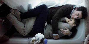 "Shane Carruth and Amy Seimetz in ""Upstream Color."""