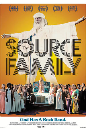 "Poster art for ""The Source Family."""