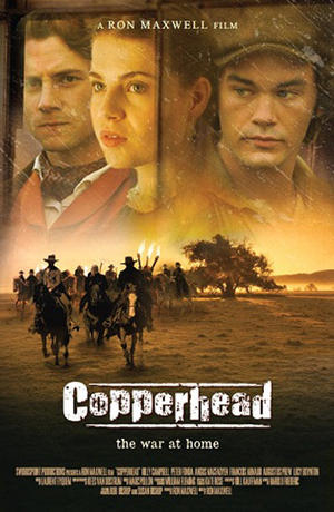 """Poster image for """"Copperhead."""""""