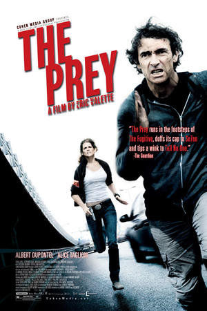 """Poster art for """"The Prey (La Proie)."""""""