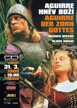 """Poster art for """"Aguirre, The Wrath of God."""""""