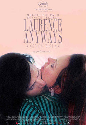 """Poster art for """"Laurence Anyways."""""""