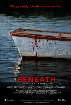 "Poster art for ""Beneath."""