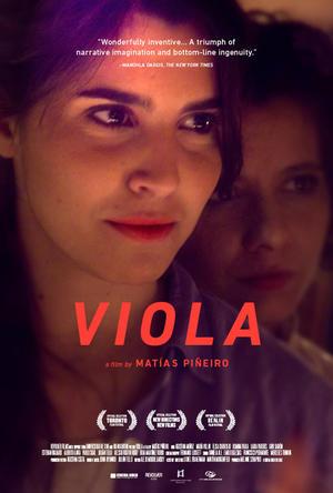 "Poster art for ""Viola."""
