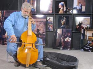 """Tim Jenison in """"Tim's Vermeer."""""""