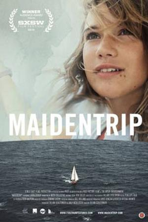 "Poster art for ""Maidentrip."""