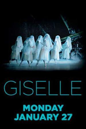 """Poster art for """"ROYAL BALLET: Giselle."""""""