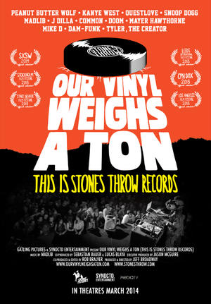 "Poster art for ""Our Vinyl Weighs a Ton."""