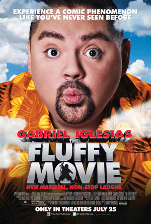 "Poster art for ""The Fluffy Movie."""