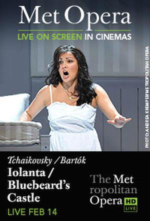 "Poster art for ""The Metropolitan Opera: Iolanta/Duke Bluebeard's Castle."""