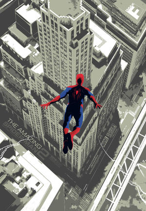 Check Out This Exclusive New 'Amazing Spider-Man 2' IMAX Print -- Here's How You Can Get It